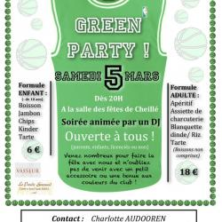GREEN PARTY affiche