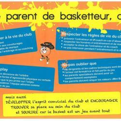 être parent d'un jeune basketteur...