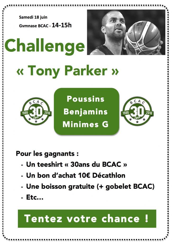 challenge tony parker