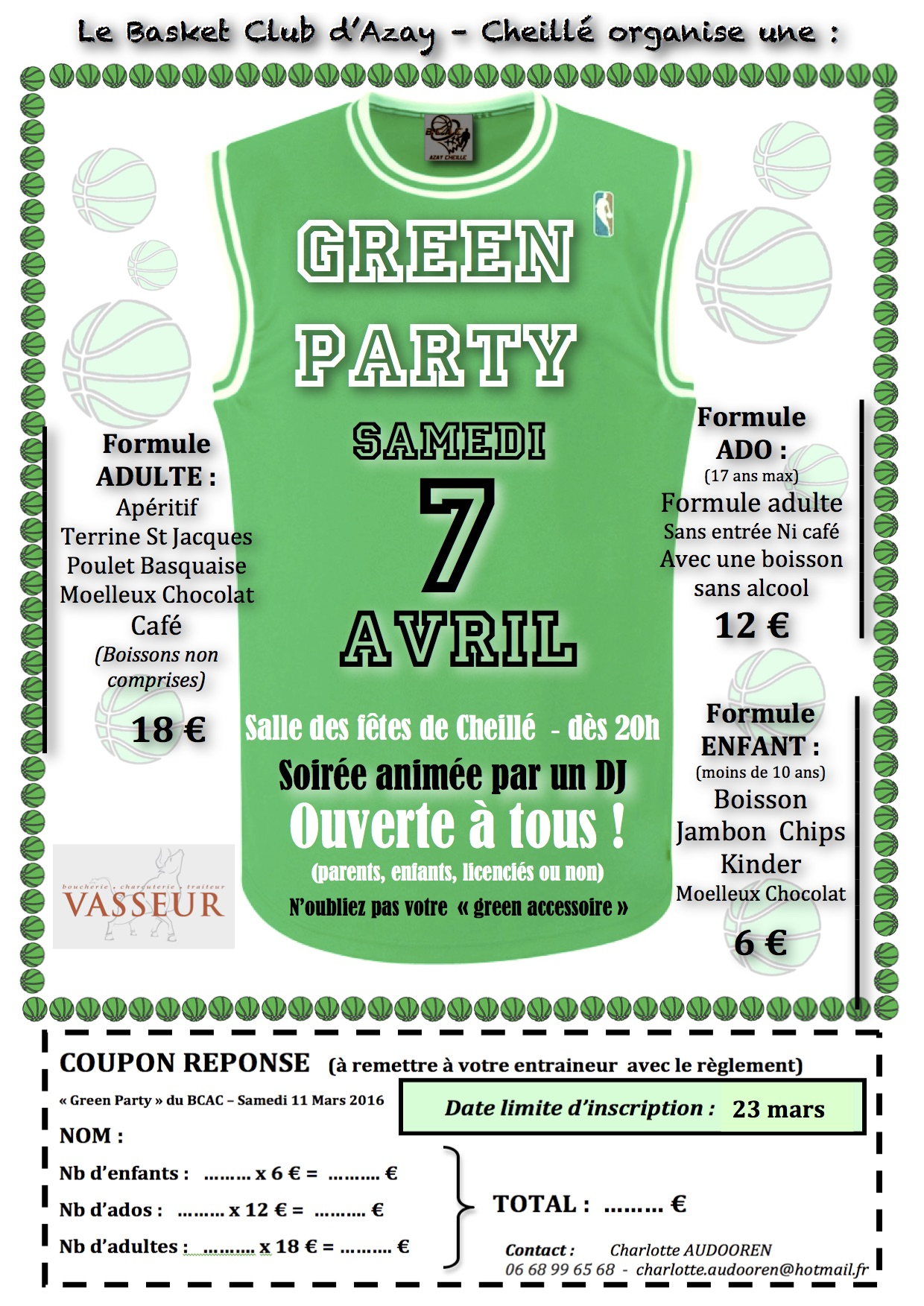 Green party coupon2018