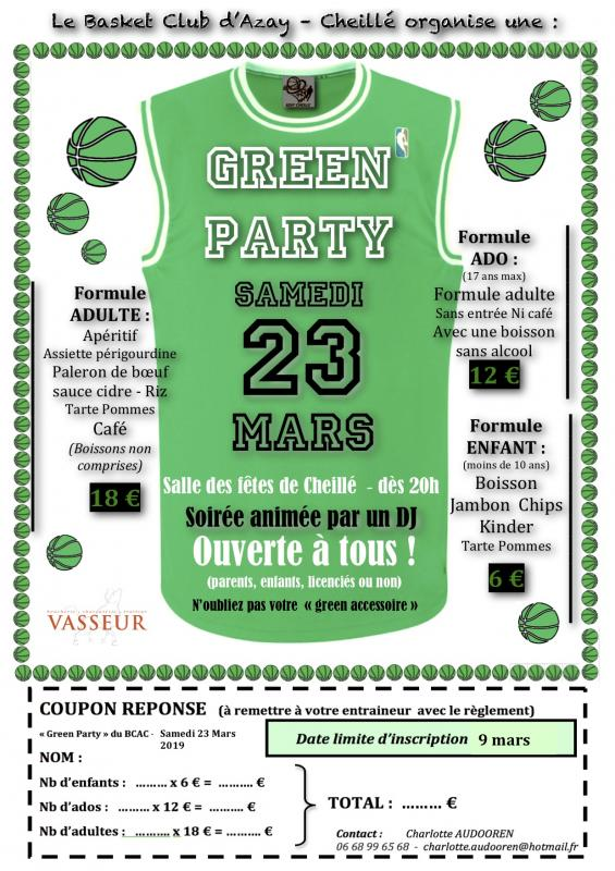 Green party coupon2019